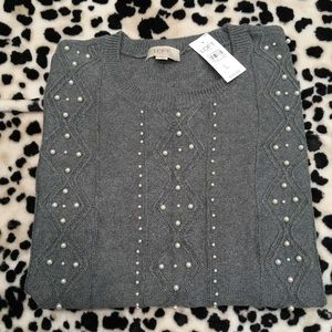 NWT LOFT Outlet Crew Neck Sweater